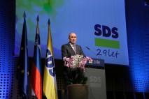 Janša: Najprej Slovenija, potem drugi