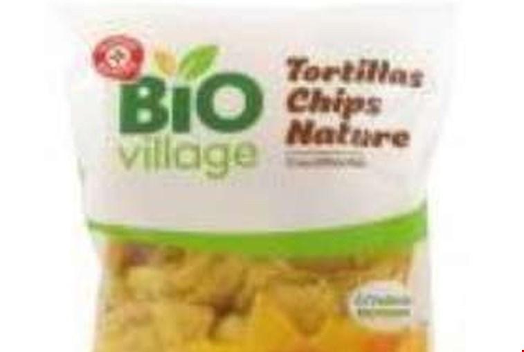 Odpoklic koruznega tortilja čipsa Bio Village MR