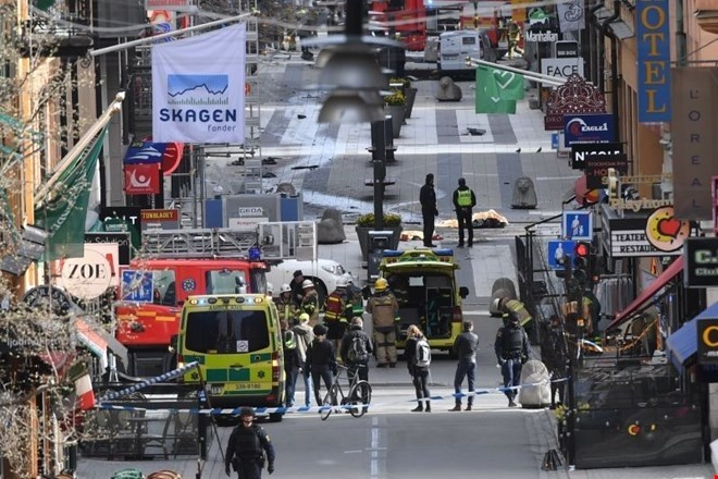 Na Švedskem začetek sojenja terorističnemu napadalcu iz Stockholma
