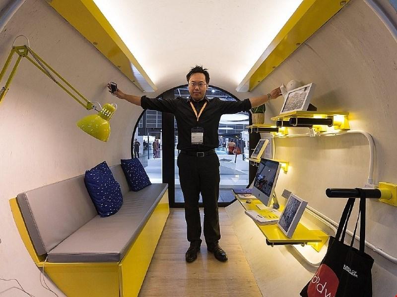 Mikro domovi v vodovodnih ceveh kot rešitev stanovanjske krize v velemestih?