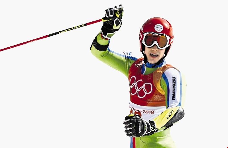 Žan Kranjec, četrti veleslalomist olimpijskih iger: S popolno vožnjo bi bil vsaj štiri desetinke hitrejši