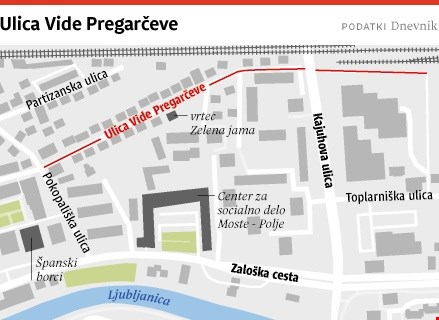 Ljubljanske ulice: Ulica Vide Pregarčeve imenovana po lepi aktivistki