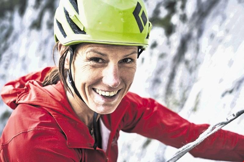 Ines Papert, vrhunska alpinistka: Pri plezanju spol ni nobena omejitev