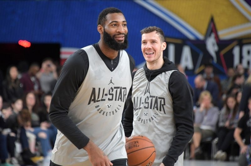 #video All Star tekma: Dragić za zmago ekipe LeBrona Jamesa prispeval dve točki
