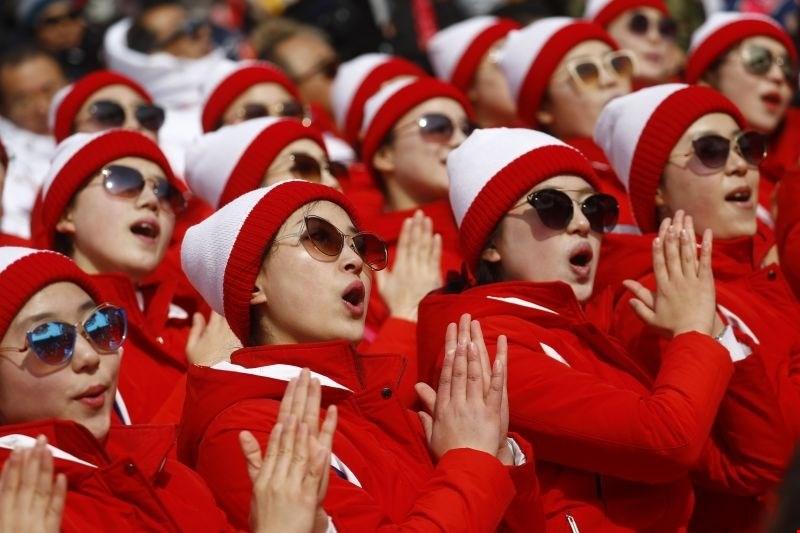 Severnokorejska navijačica: nismo navijale, pač pa smo se skušale prikrasti v srca sovražnikov