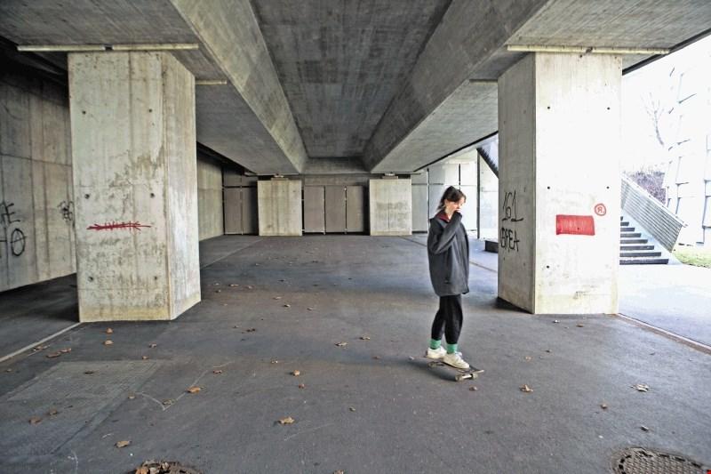 Rolkarski park pod Fabianijevim mostom bosta gradila Lesnina MG oprema in Pro-Concrete