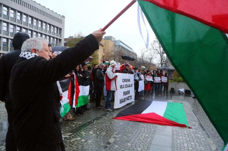 Levica zbrala podpise za izredno sejo DZ o priznanju Palestine